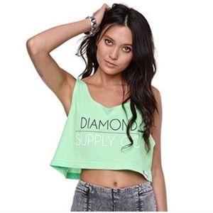 Diamond Supply Co. Crop Top